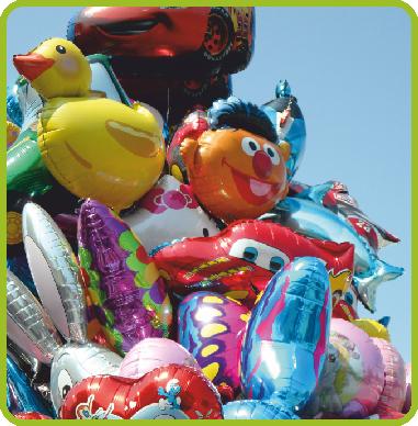 Balony z helem 8