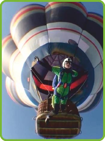 Loty balonem 3