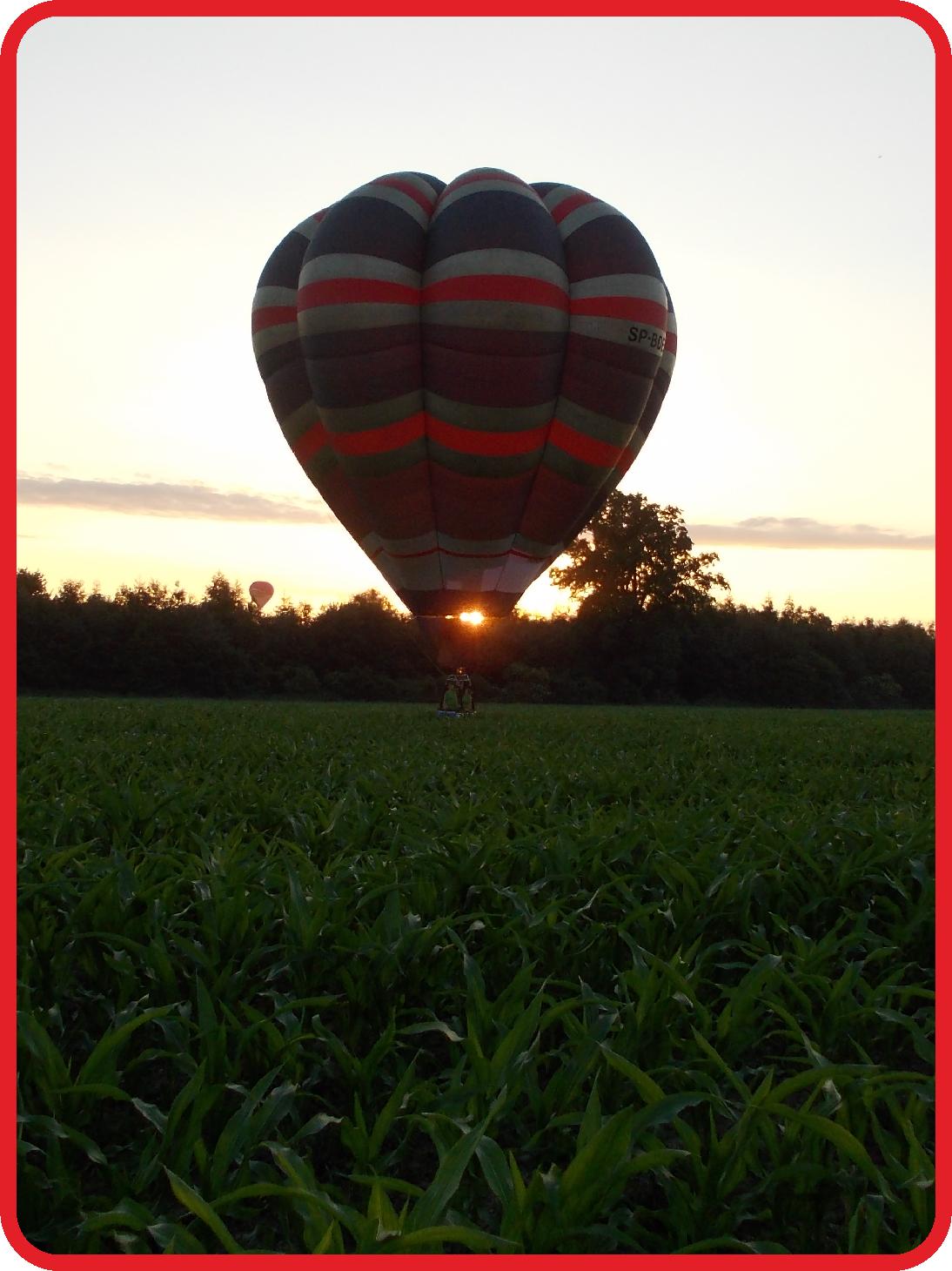 Loty balonem 5