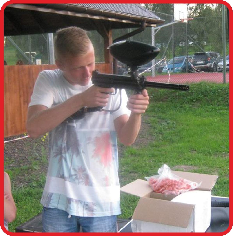 Strzelanie z luku, paintball 6