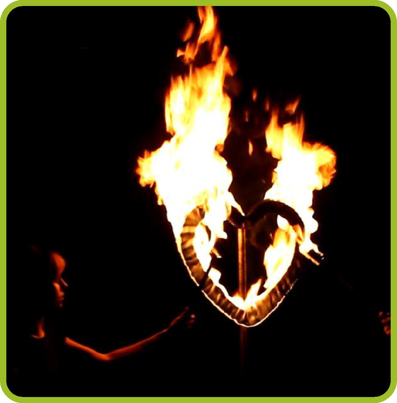Szczudlarze, fireshow 16
